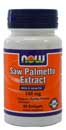 Saw Palmetto Double Strength 160 mg - 60 Softgels