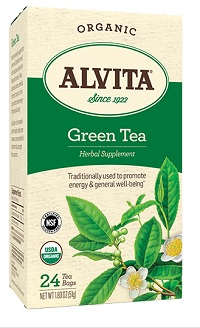 Alvita Tea Chinese Green Tea 24 bags