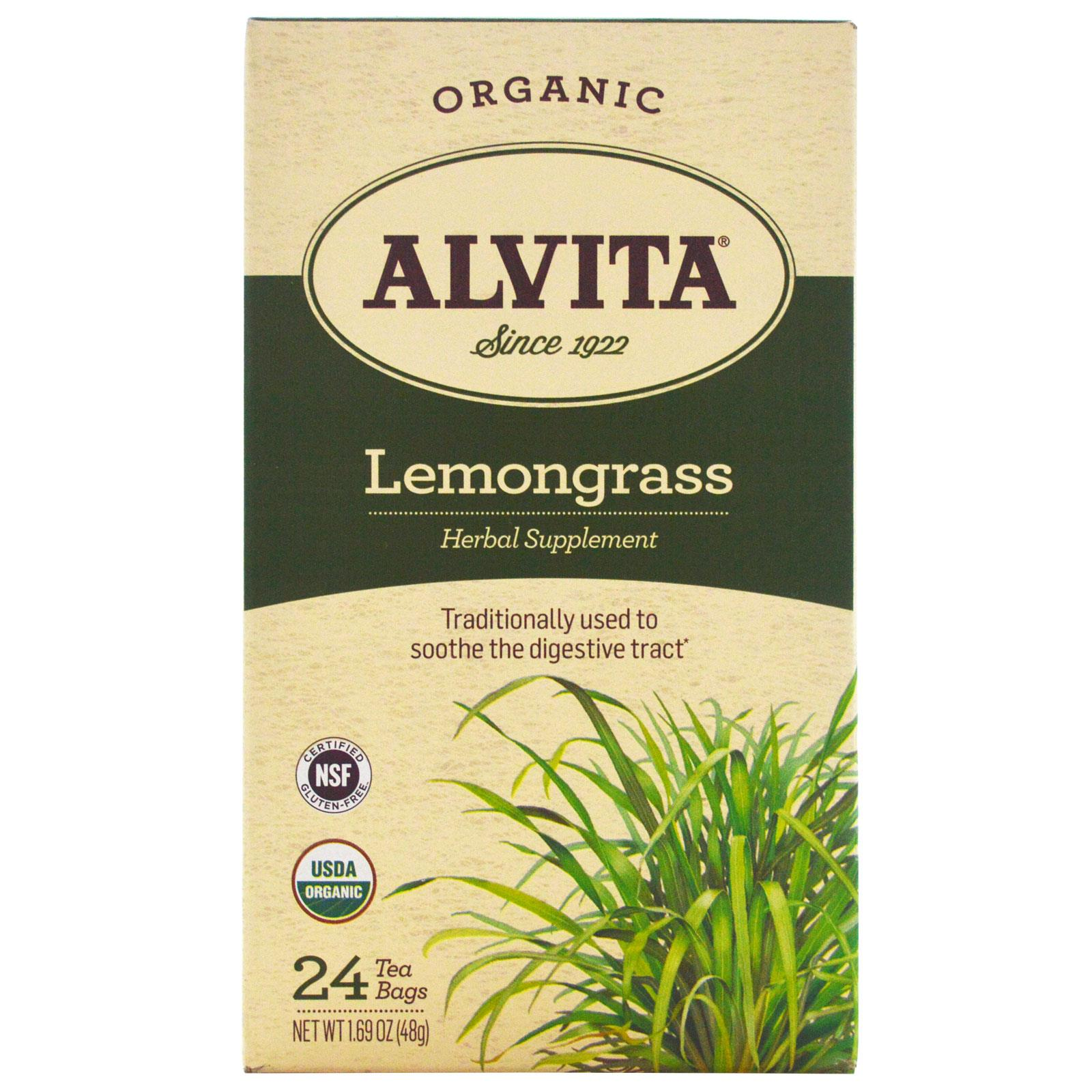 Alvita Tea Lemon Grass 24 bags