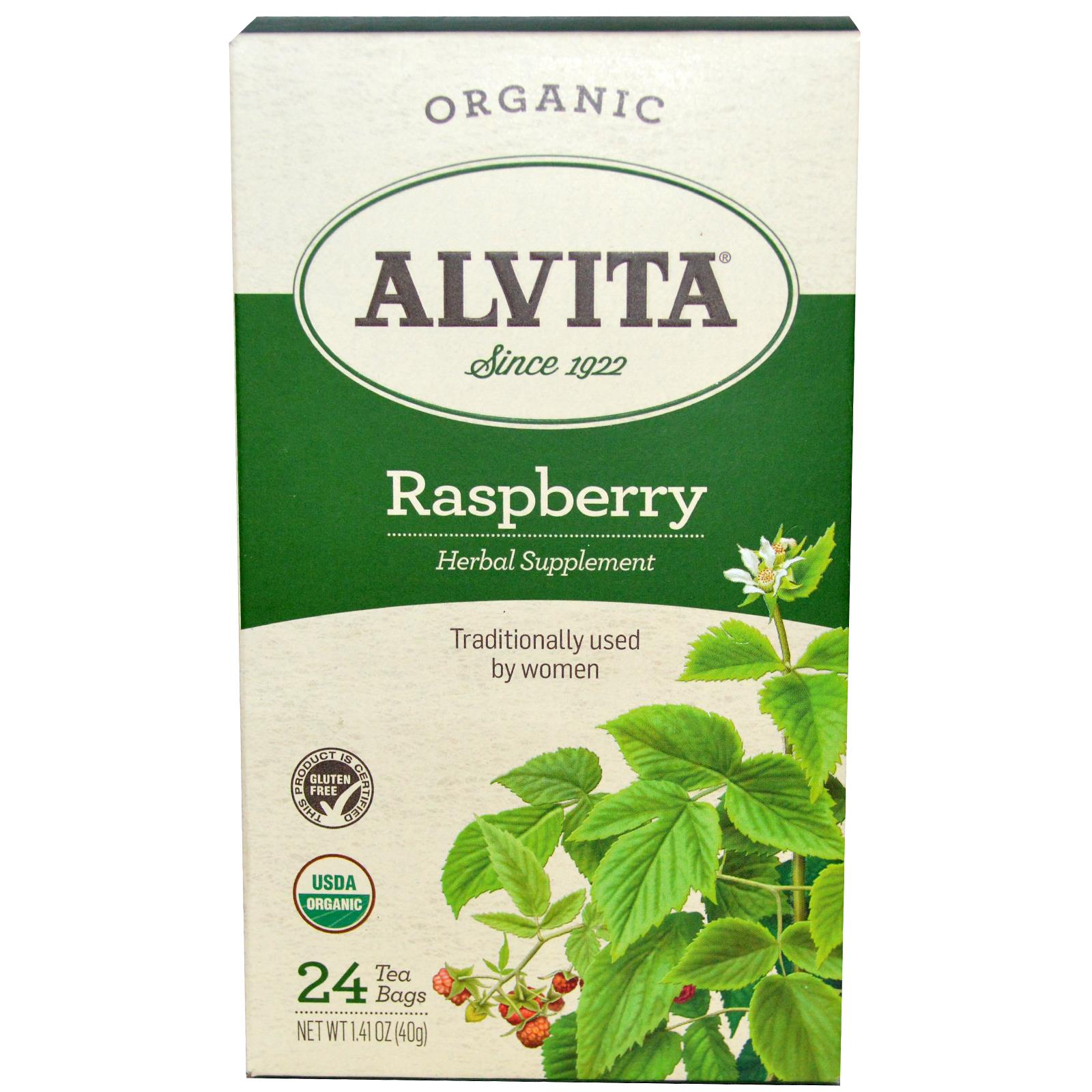 Alvita Tea Red Raspberry Leaf 24 bags
