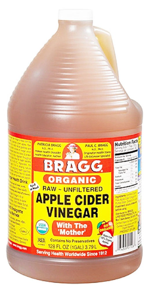 Apple Cider Vinegar Bragg 1 gallon