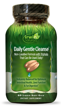 Daily Gentle Cleanse 60 caps Irwin Naturals