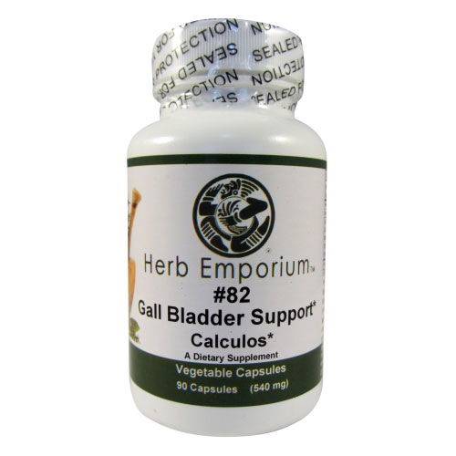 Formula #82 Calculos/Gall Bladder Support 90ct. 450mg. Veg.Caps.