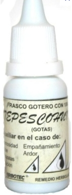 Gotas de Tepezcohuite 10ml Eye Drops