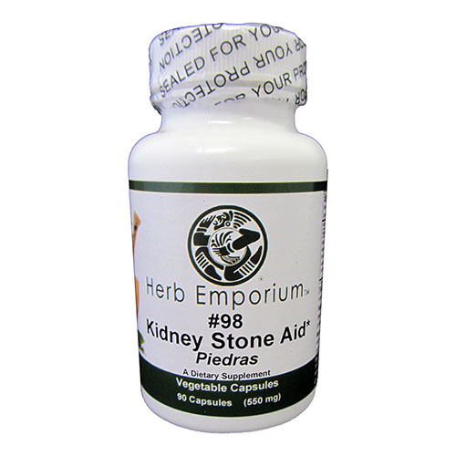 Formula # 98 Kidney Stone Aid 90 Vegetable Capsules
