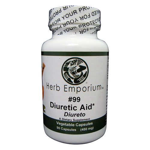 Formula #99 Herbal Diuretic Aid 90 Vegetable Caspules