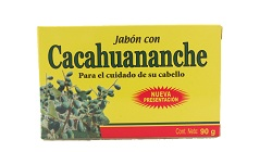Cacahuananche soap bar / Jabon de Cacahuananche