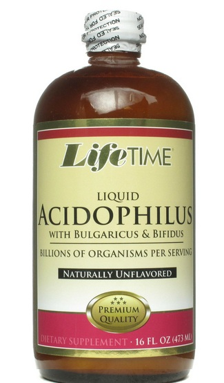 Lifetime Acidophilus Liquid Natural 16oz