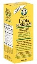 Lydia Pinkham Herbal Liquid Supplement 8oz