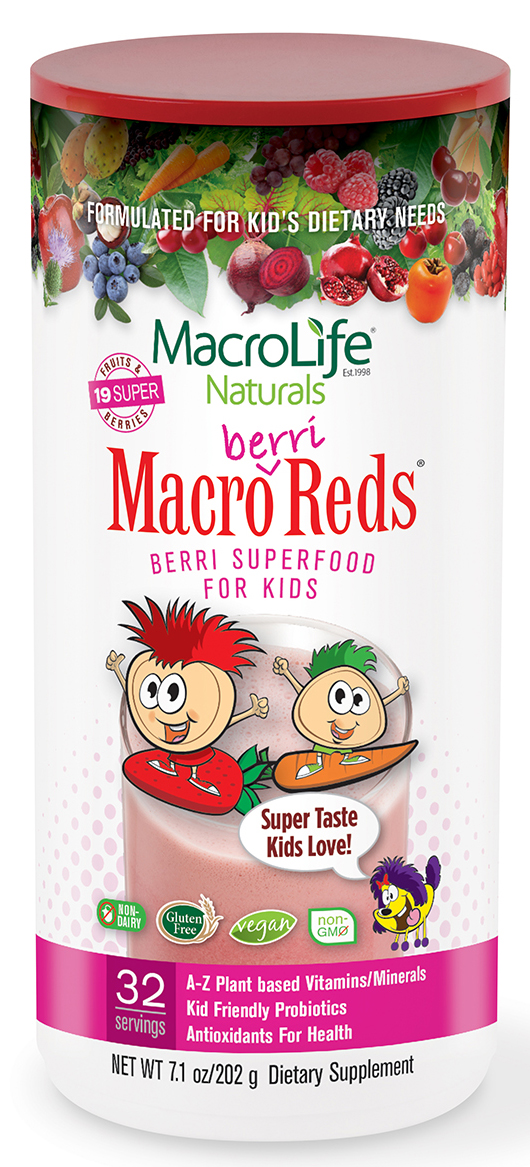 Macro Greens Jr Berri Reds 7.1 oz 32 servings