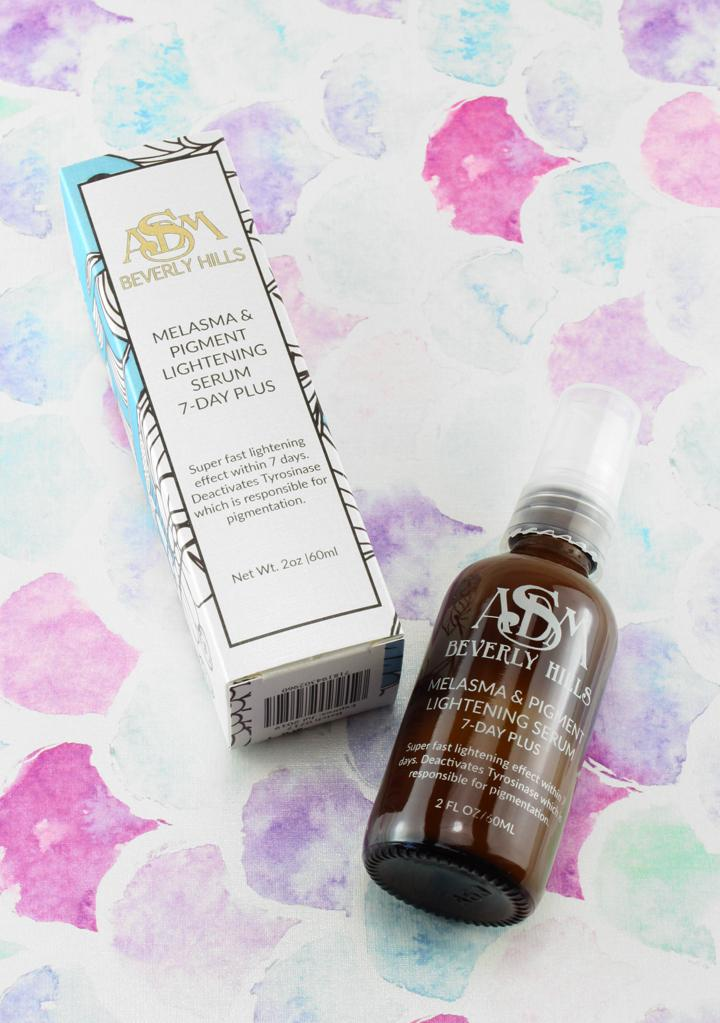 MELASMA & PIGMENT LIGHTENING SERUM- 7 DAY PLUS