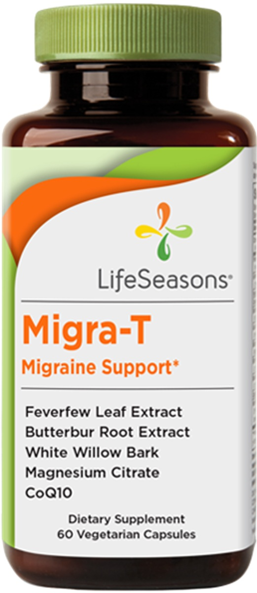 Migra-T Migraine Support 60 caps LifeSeasons