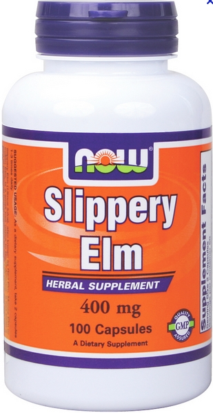 Now SLIPPERY ELM 400mg 100 CAPS