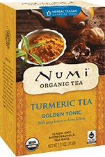 Numi Turmeric Tea Golden Tonic