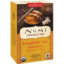 Numi Turmeric Tea Three Roots