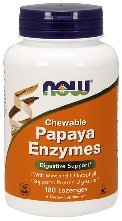 Papaya Enzyme (Chewable)- 180 Lozenges