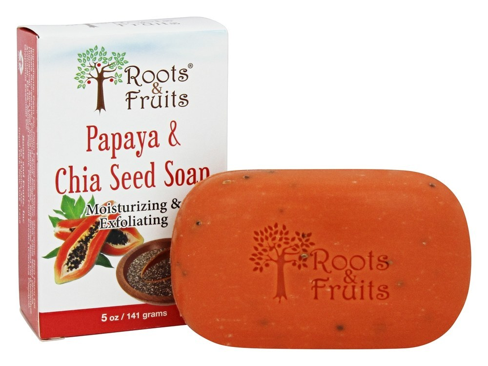 Papaya and Chia Soap 5oz