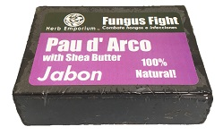 Fungus Fight Pau d' Arco soap