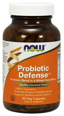 Probiotic Defense 90vcaps NOW