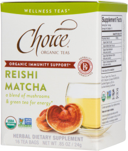 Reishi Matcha Wellness Tea