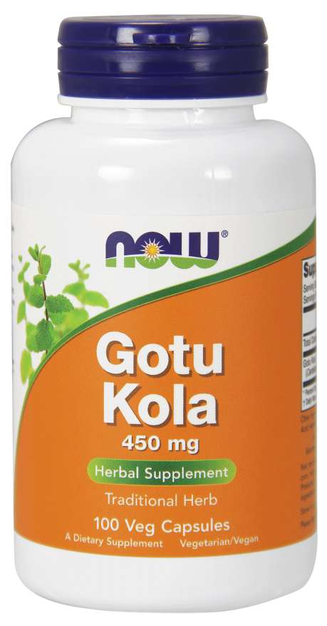 Now Gotu Kola Capsules 450mg 100caps