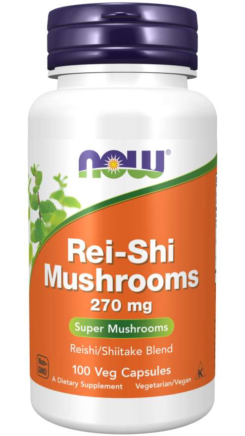 Rei-Shi Mushrooms by NOW