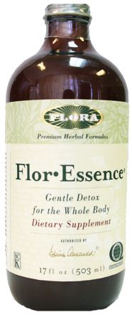 Flor Essence Gentle Detox Dietary Supplement 17oz