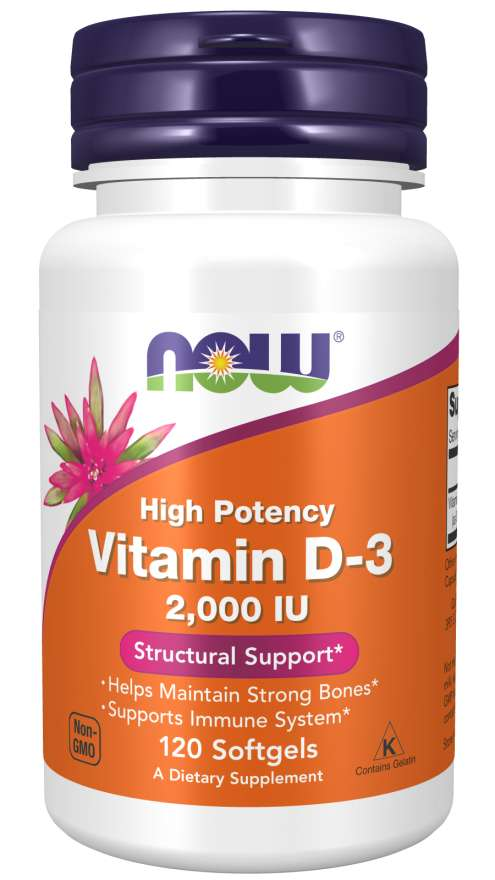 Vitamin D-3 2000IU 120Softgels