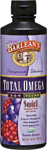 Barlean's Total Omega 3 6 9 Vegan Swirl Pomegranate Blueberry 16