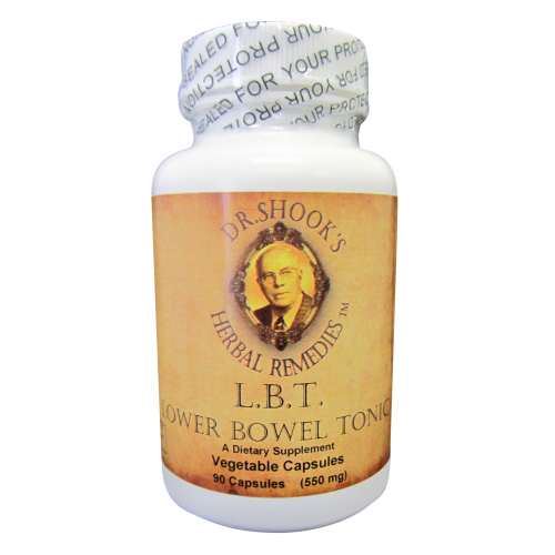 Lower Bowel Tonic/Tonico para Intestinos 90ct. 450mg. Veg. Caps.