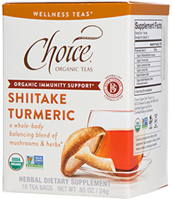 Shiitake Turmeric Wellness Tea