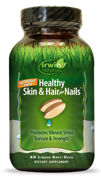Healthy Skin & Hair plus Nails 60 caps Irwin Naturals