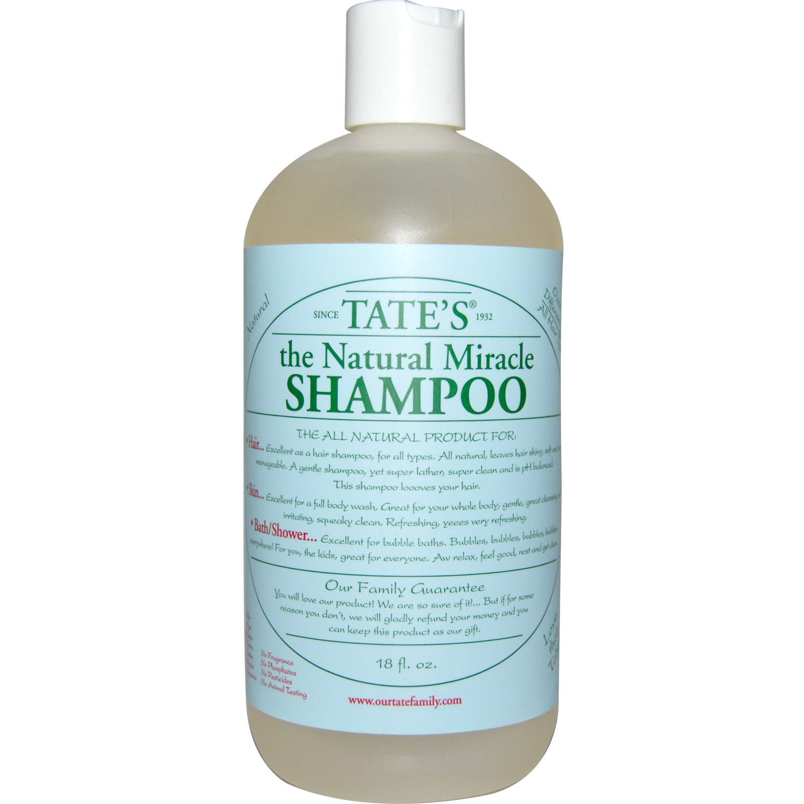Tate's Miracle Shampoo Lavender
