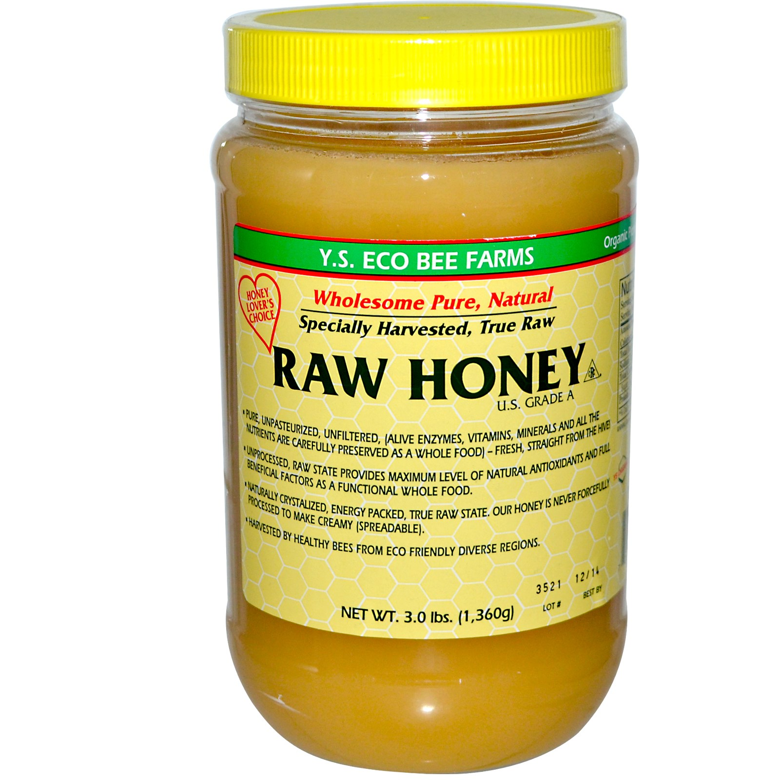 YS Raw Honey 48oz