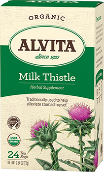 Alvita Tea Milk Thistle 24 bags