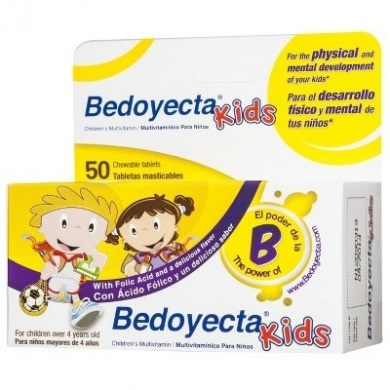 Bedoyecta Kids B Complex with Folic Acid