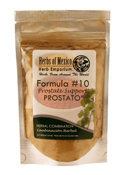 Formula #10 Prostate Support Stand Up Pouch 2oz