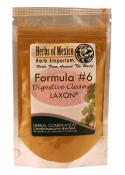 Formula #6 - Laxon / Digestive Cleanse Stand Up pouch 2 oz