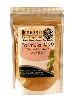 Formula #99 Herbal Diuretic Aid Stand Up Pouch 2oz