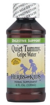 Herbs for Kids Quiet Tummy Gripe Water