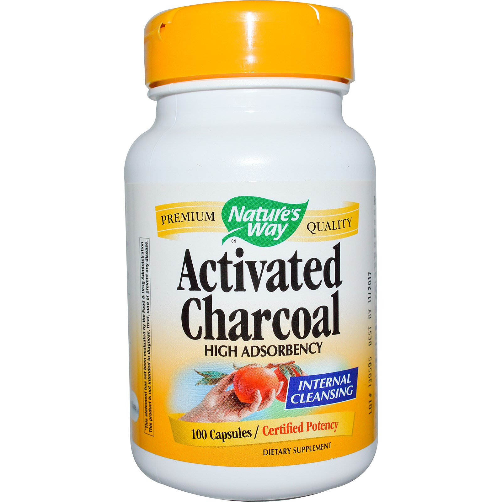 Activated Charcoal (280 mg)-100 caps